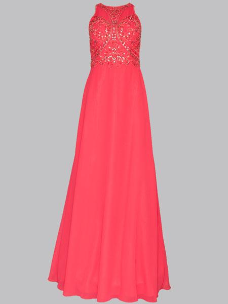 elegantes Kleid lang 7