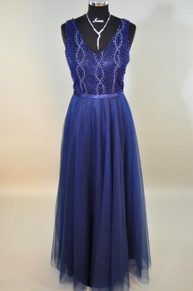 elegantes Kleid lang 41