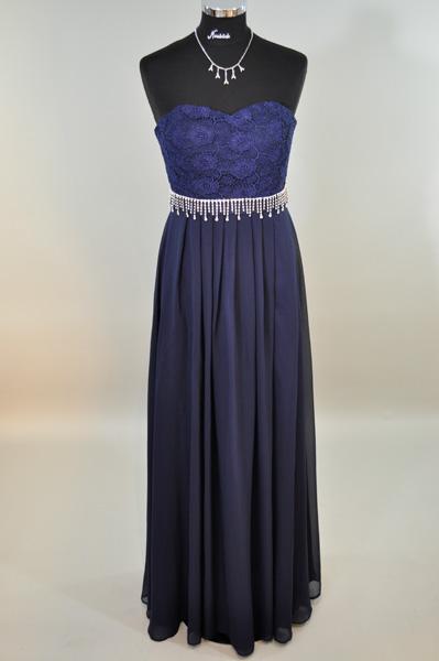 elegantes Kleid lang 42