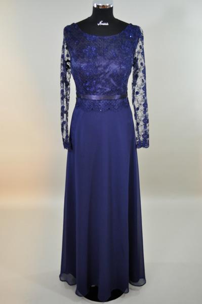 elegantes Kleid lang 43