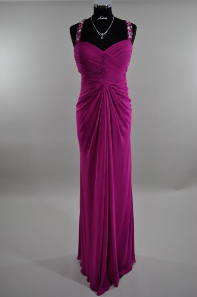 elegantes Kleid lang 9