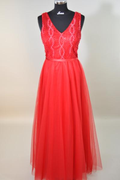 elegantes Kleid lang 16