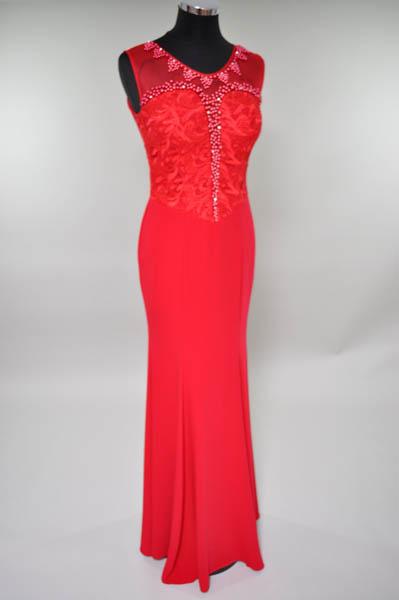 elegantes Kleid lang 26
