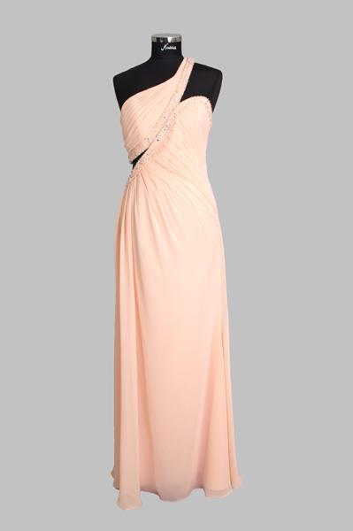 Asymetrisches Kleid